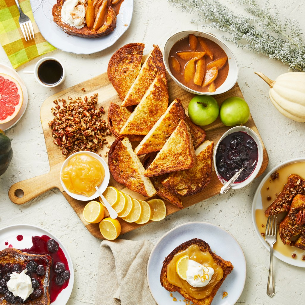 homemade French Toast-HelloFresh-recipes
