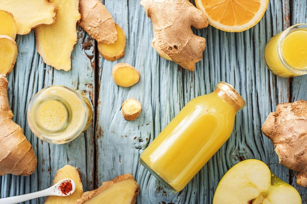 ginger shot-HelloFresh-recipe-apple-cayenne