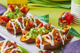 Stuffed Sweet Potatoes TWO Ways For Game Day