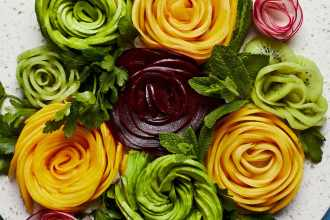 How To Create Picture-Perfect Fruit Roses