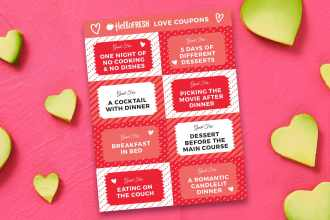 8 Valentine's Day Love Coupons