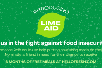 LimeAid: How HelloFresh is Paying it Forward This #GivingTuesday