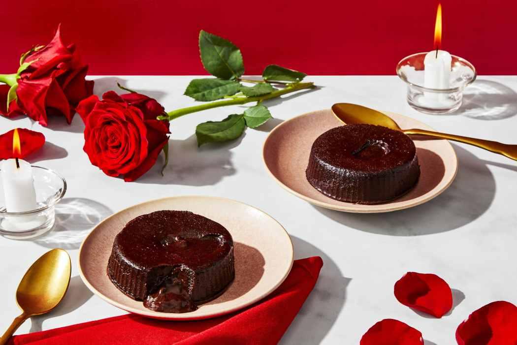 Valentine's Day Chocolate Lava Cakes