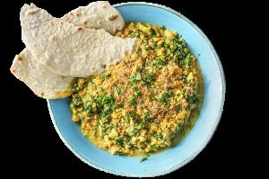 Indischer Linsen-Spinat-Eintopf