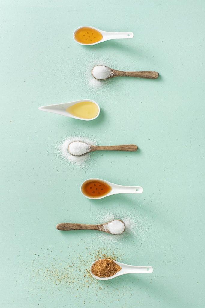 Spare Zucker durch den Einsatz von Alternativen