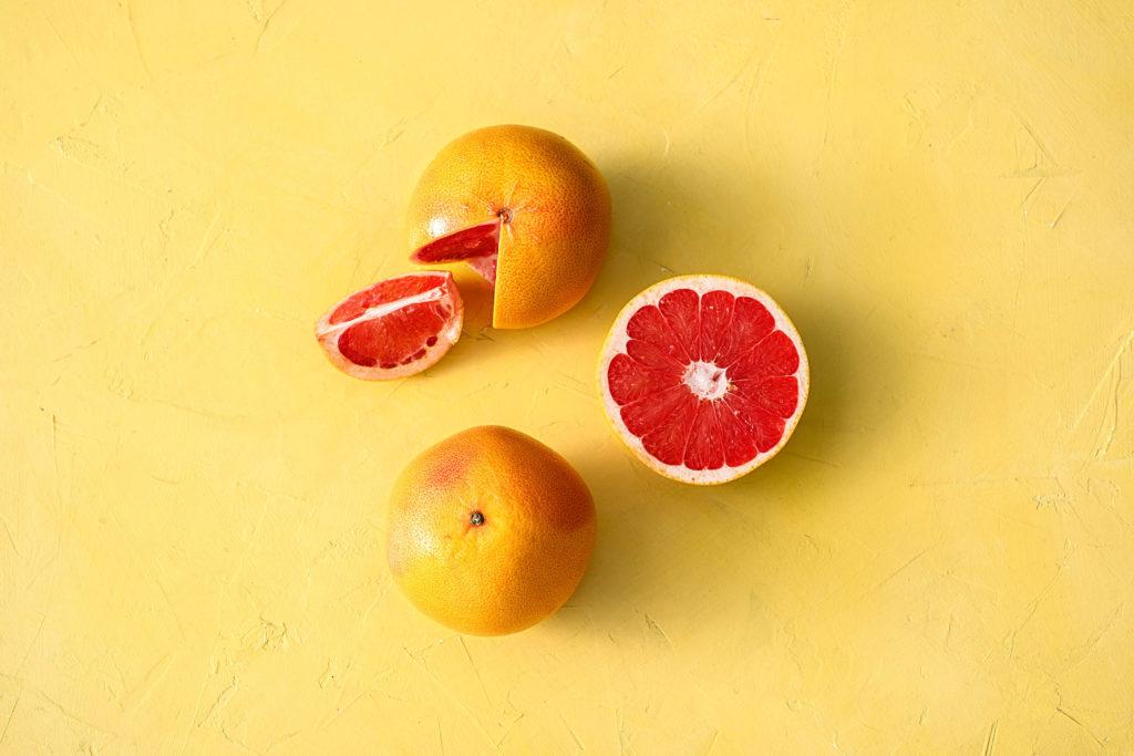 Gesunde Grapefruit als Snack
