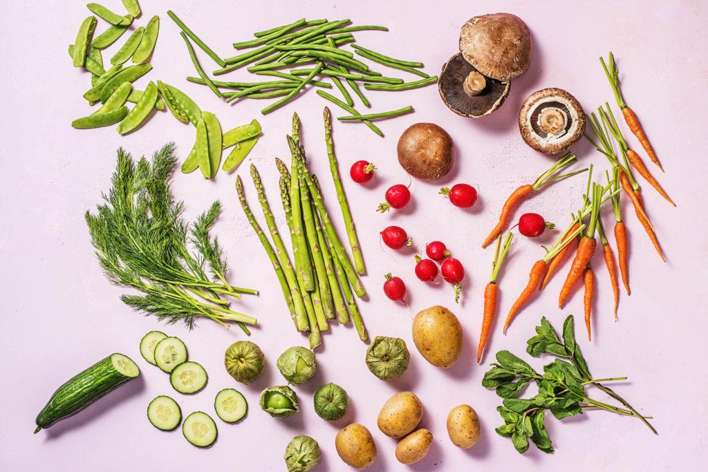Perfekt fürs Clean Eating: Gemüse