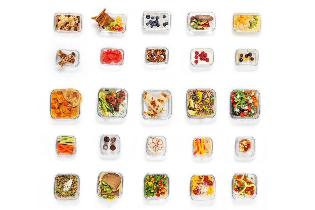 So kann eine Meal Prep Woche aussehen