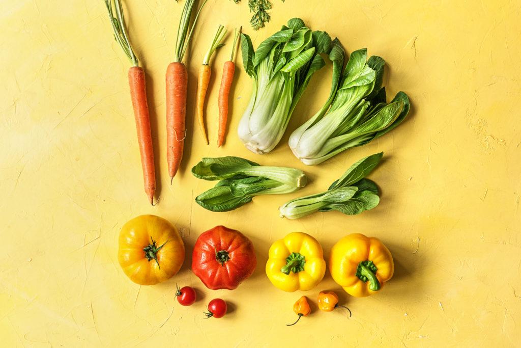 Gemüse muss nicht unbedingt geschält werden