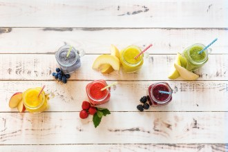 Regenbogen-Smoothies