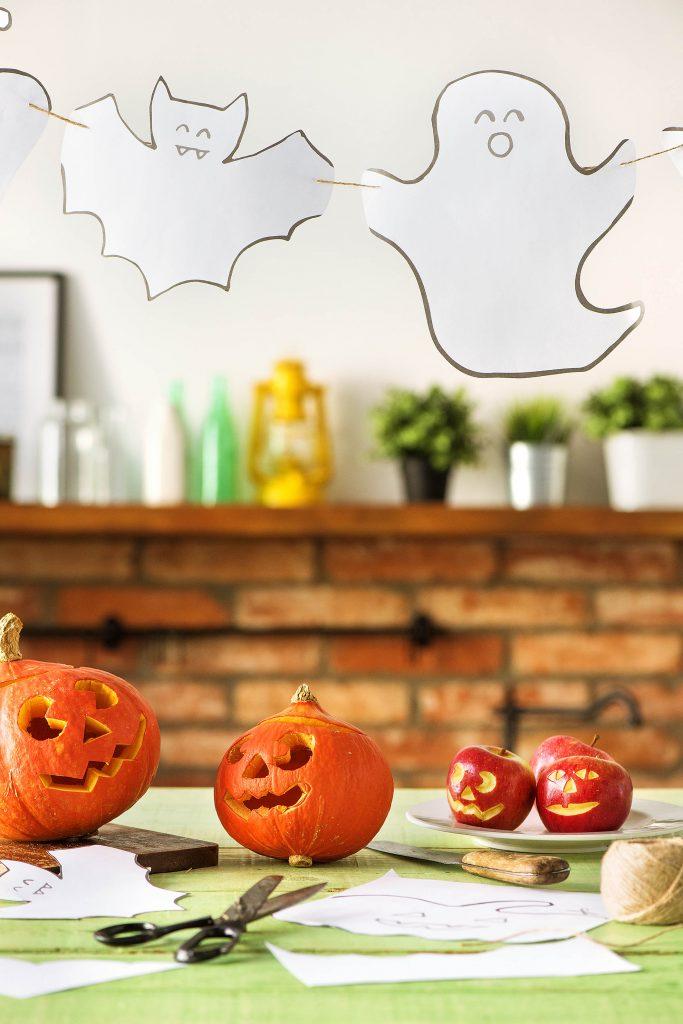 Halloween Deko: Girlande