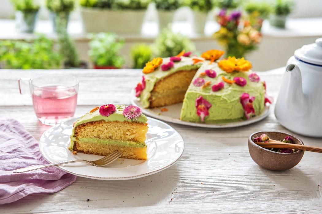 Unsere Frühlingsblüten-Torte