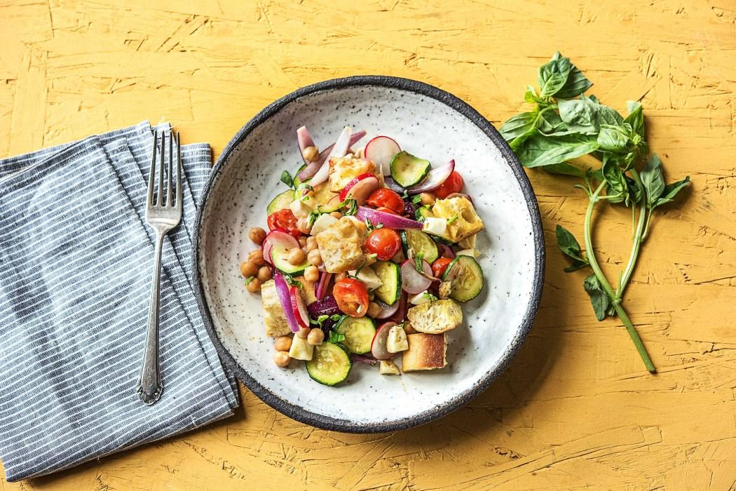 Essen im Freien: Salate