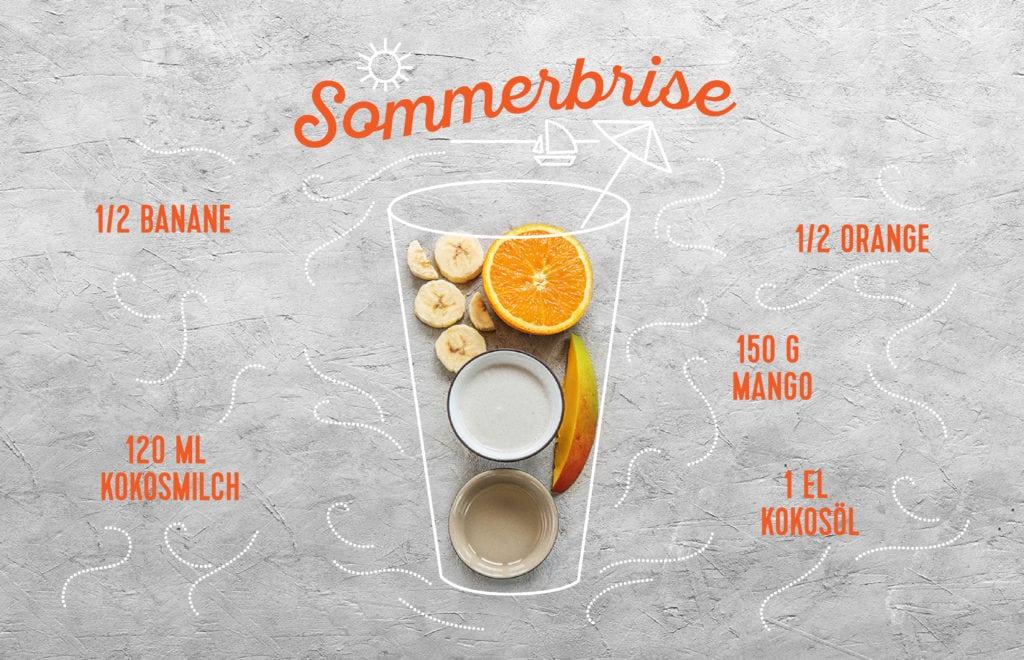 Unsere drei Sommer-Smoothies: Sommerbrise