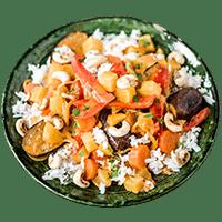 Indisches Gemüse-Korma mit Basmatireis