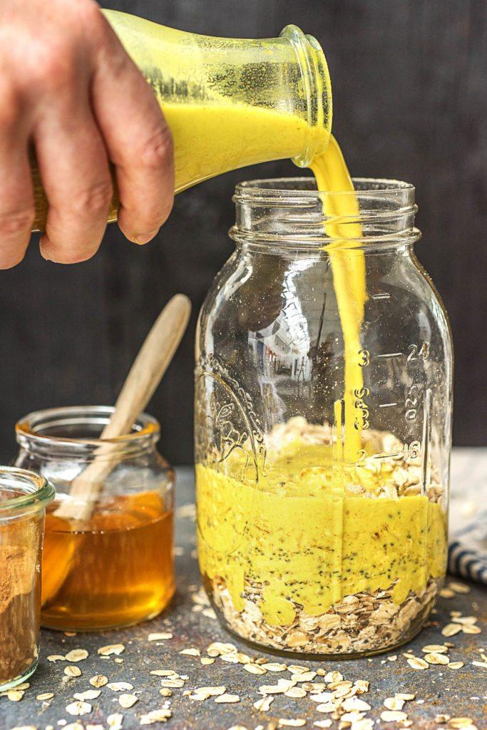 Goldene Milch: Rezept
