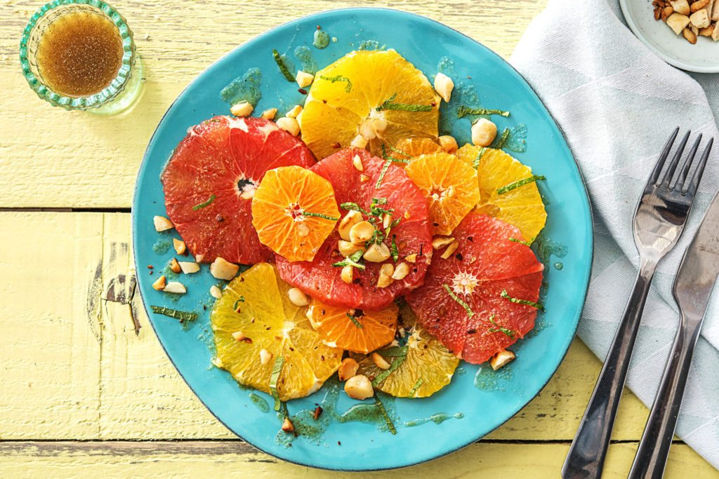 Grapefruit-Salat