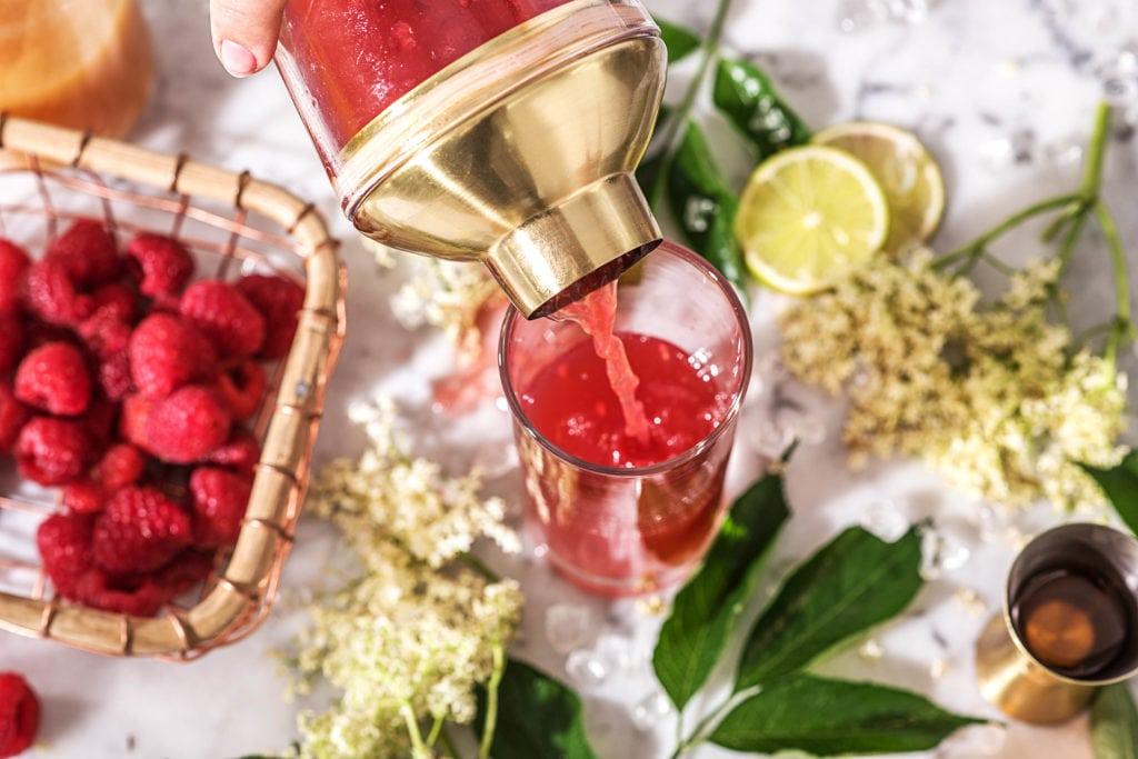 Mocktail zubereiten