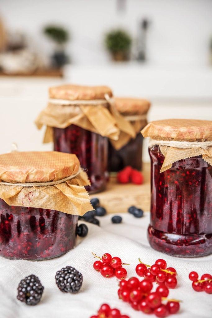 Ruckzuck eigene Marmelade einkochen
