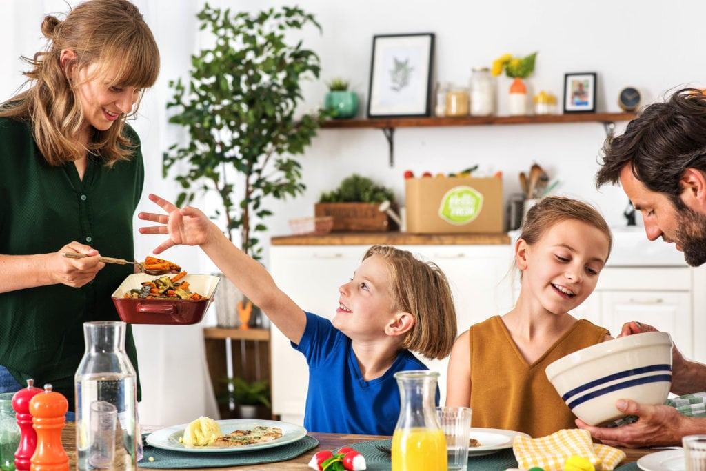 Das gemeinsame Essen als Familie ist durchaus wichtig