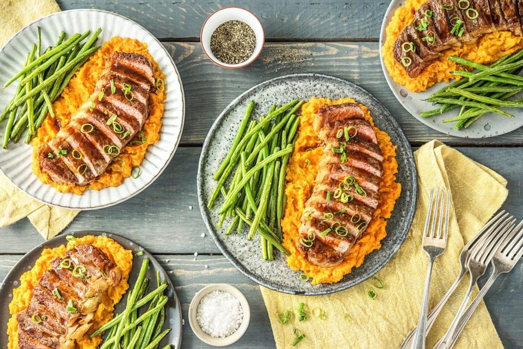 So bunt und lecker sehen Gerichte mit Gemüsestampf aus