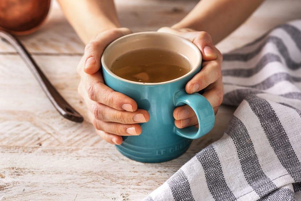 Eine Tasse Brühe tut gut!