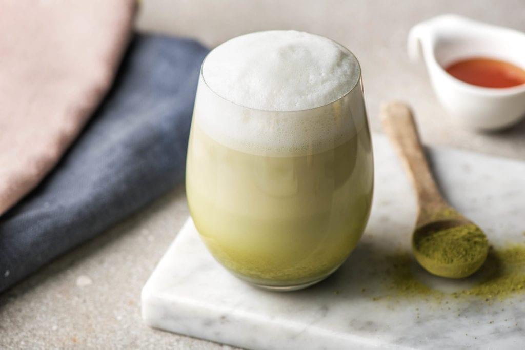 Grün und gesund: Matcha-Latte