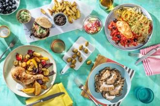 Oliven-Special Rezepte im Juni