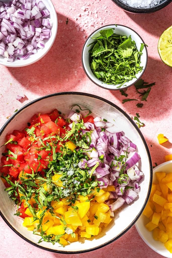 Wassermelonen-Salsa