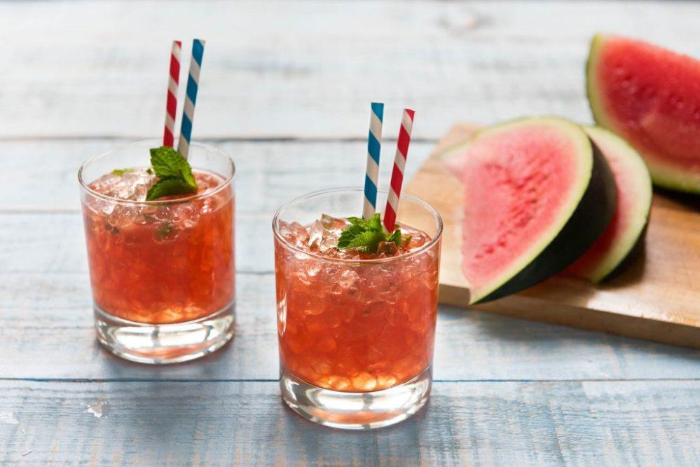 Wassermelonen-Minz-Julep