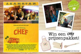 Win een prijzenpakket van CHEF de film