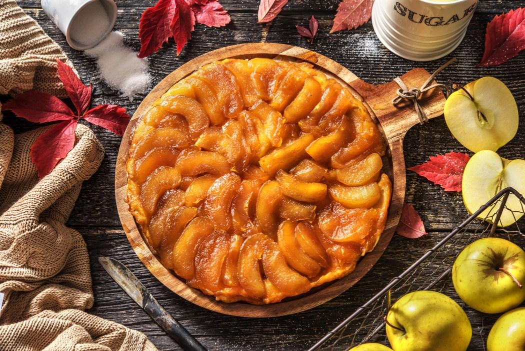 De klassieke appel-tarte tatin