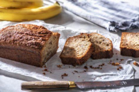 Banana bread noix
