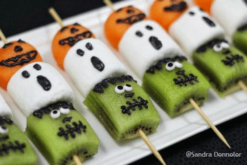 Healthy Halloween Kebab