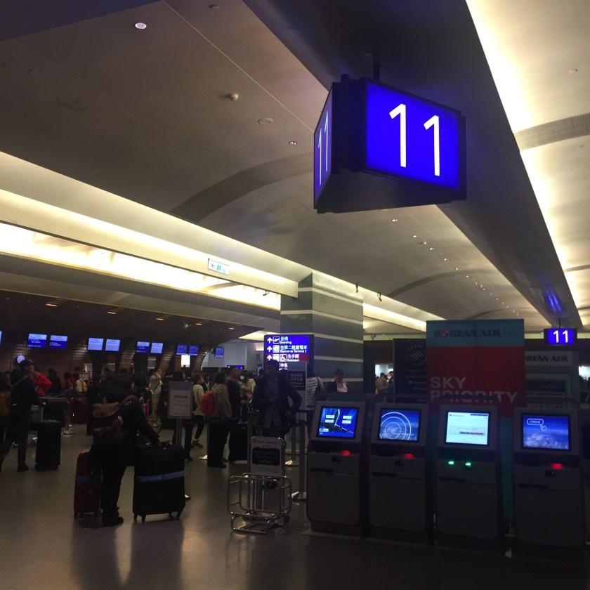 TPE departure area