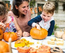 Family Halloween with your domestic helper