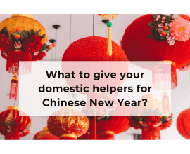 red lanterns, chinese lanterns, celebration, what to give your domestic helpers for chinese new year?