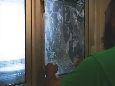 adesivo janela