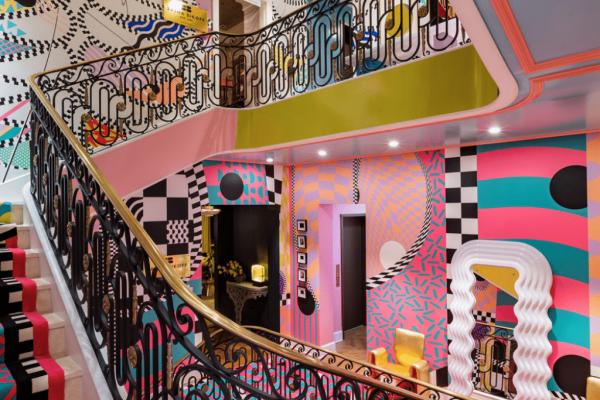 intérieurs insolites - escalier fantaisiste
