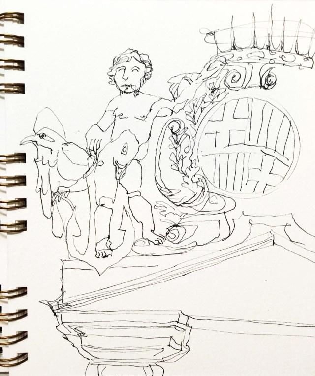 Skizzenbuch zeichnen skizzieren Tine Klein urban sketching