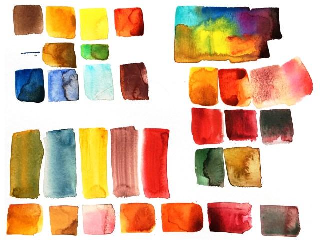 Tine Klein Farbpaletten, Farbcodes, limitierte Farbpalette, Farbtest Rot und Grün