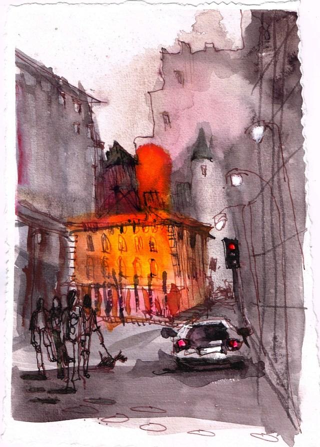 Tine Klein Chicago alte Feuerwache