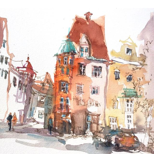 Workshob Bildentwurf mit Farbe, Tine Klein Augsburg Brockelmann Haus