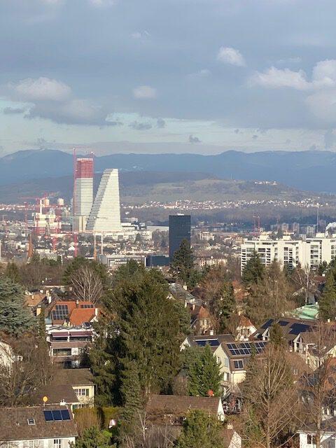 Zusammen malen #mitTinemalen Wasserturm Basel. Eine Gemeinschaftsaktion von Tine Klein. Malwettbewerb?