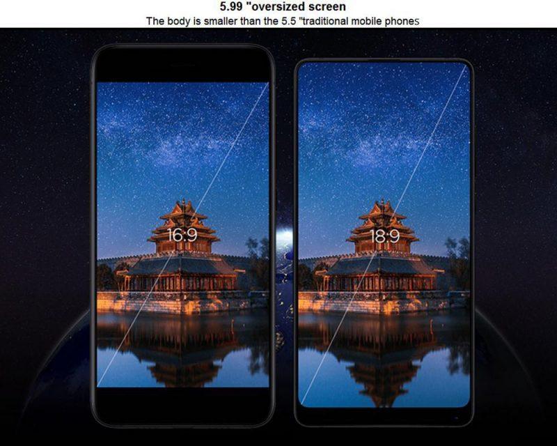 Xiaomi Mi Mix 2 écran