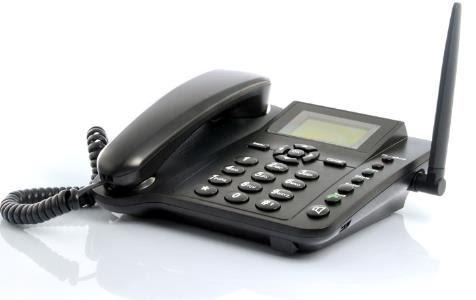 Téléphone fixe GSM carte SIM
