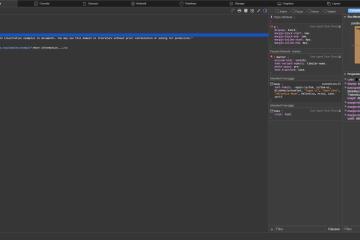 Screenshot of the WebKit WebInspector