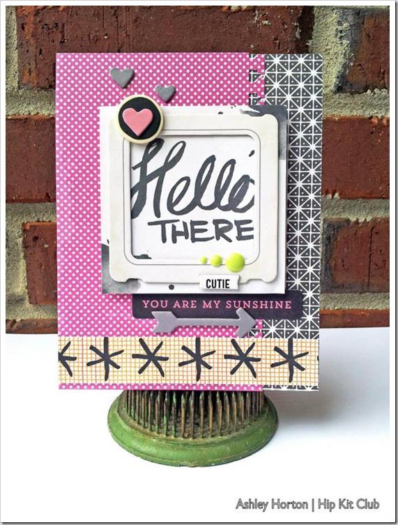 Hello Card 1