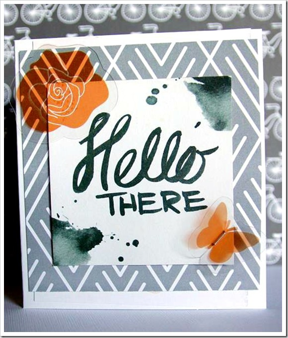 Hello There Card Edited