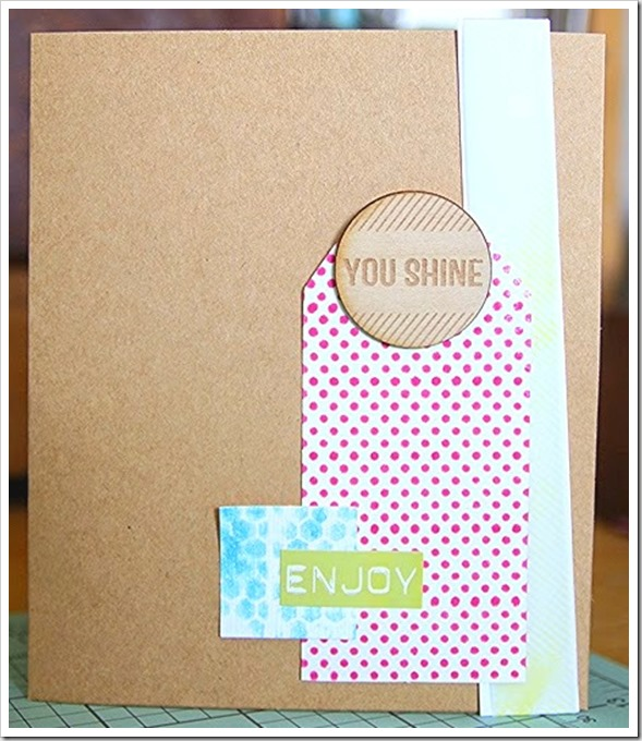 June 6 You shine card